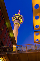New Zealand-Auckland-Sky Tower & Sky City
