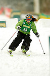 15 January 2005 - Lake Placid, New York, USA - Nina Bednarik representing Slovenia, competes in the FIS World Cup Ladies' Moguls Freestyle ski competition, ranking 26th for the day, at Whiteface Mountain, Lake Placid, NY. ..Mandatory Credit: Ed Wolfstein Photo.