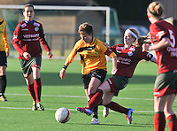 2012-02-25 Dames Zulte-Waregem - WD Lierse