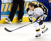 T.J. Hensick (University of Michigan - Howell, MI) takes part in the 2007 Pontiac Frozen Four Skills Challenge on Friday, April 6, 2007, at the Scottrade Center in St. Louis, Missouri.
