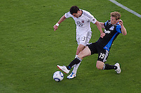 SANTA CLARA, CA - July 30, 2011: The San Jose Earthquakes played DC United at Buck Shaw Stadium on July 30th, 2011.