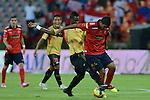 Medellín- Deportivo Independiente Medellín venció 3 goles por 0 a Las Águilas Doradas, en el partido correspondiente a la séptima fecha del Torneo Clausura 2014, desarrollado el 31 de agosto en el estadio Atanasio Girardot.