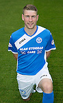 St Johnstone FC photocall Season 2016-17<br />David Wotherspoon<br />Picture by Graeme Hart.<br />Copyright Perthshire Picture Agency<br />Tel: 01738 623350  Mobile: 07990 594431