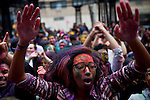 2013 Indian Holi Hai Celebration in New York