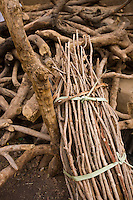 Djenné, Mali 2009 -Fire wood and building materials