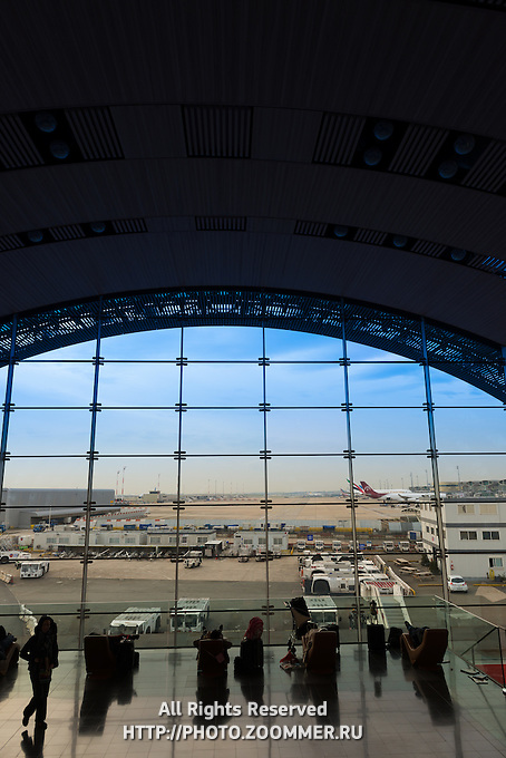 Terminal 2, Paris Charles de Gaulle international airport, Roissy, France