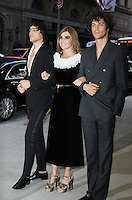 NEW YORK, NY-September 08:  Sebastian Faena, Carine Restoin-Roitfeld and Miles McMillan at Daily Front Row Fashion Media Awards at Park Hyatt in New York. NY September 08, 2016. Credit:RW/MediaPunch