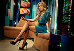 Giuliana Rancic  at the E studios in Los Angeles. Rancic is a mainstay of awards-season red carpet coverage..