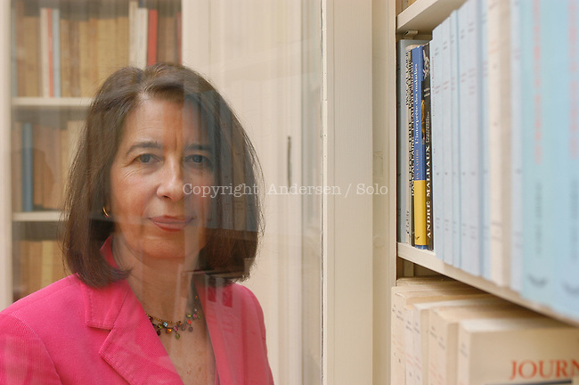 Isabelle Gallimard, French publisher.