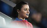 St Johnstone v Hamilton Accies&hellip;28.01.17     SPFL    McDiarmid Park<br />Blue lips Megan<br />Picture by Graeme Hart.<br />Copyright Perthshire Picture Agency<br />Tel: 01738 623350  Mobile: 07990 594431
