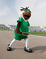 Mascot. US Men's National Team Under 17 defeated Malawi 1-0 in the second game of the FIFA 2009 Under-17 World Cup at Sani Abacha Stadium in Kano, Nigeria on October 29, 2009.