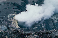 Java, East Java, Mount Bromo. Mount Bromo is still an active volcano with recent eruptions.