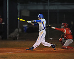 Oxford High's Pittman Phillips (3) bats vs. Lafayette High in Oxford, Miss. on Thursday, March 14, 2013. Oxford won 19-9.