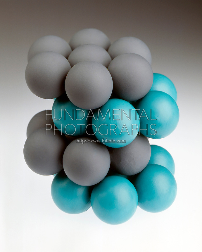 PACKING OF SPHERES<br /> (3 of 4) Hexagonal closest<br /> Noncubic unit cell<br /> Two alternating layers, a-b-a-b, offset from each other so that the spheres in 1 layer sit in the small triangular depressions of neighboring layers. Each sphere is touched by 12 neighbors, 6 in same layer, 3 above &amp; 3 below.