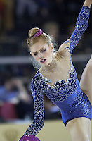 October 19, 2001; Madrid, Spain:  ELIZA GOWER of Australia performs with ball at 2001 World Championships at Madrid.