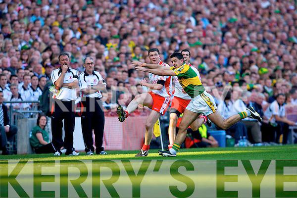 Aidan O'Mahony, Kerry v Tyrone All ireland Final 2008 at Croke Park Dublin 21st September 2008.