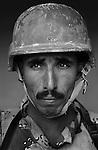 Staff Sgt. Kasim Farhood Aluwan, 35, Nasiriyah, Former Construction Worker, 4th Co., 2nd Battalion, 7th Division, Iraqi Army. Haditha, Iraq. Nov. 27, 2005.