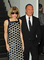 NEW YORK, NY - OCTOBER 17: Anna Wintour and Michael Kors at the God's Love We Deliver Golden Heart Awards on October 17, 2016 in New York City. Credit: John Palmer/MediaPunch