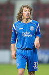 Hearts v St Johnstone...29.01.11  .Stevie May.Picture by Graeme Hart..Copyright Perthshire Picture Agency.Tel: 01738 623350  Mobile: 07990 594431