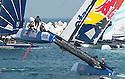 Extreme Sailing Series 2012. Act 1.The Wave Muscat. Oman..Credit: Lloyd Images