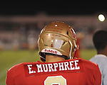 Lafayette High's Eli Murphree (6) vs. Tunica Rosa Fort in Oxford, Miss. on Friday, October 5, 2012. Lafayette High won 35-6.