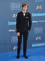 Lucas Hedges at the 22nd Annual Critics' Choice Awards at Barker Hangar, Santa Monica Airport. <br /> December 11, 2016<br /> Picture: Paul Smith/Featureflash/SilverHub 0208 004 5359/ 07711 972644 Editors@silverhubmedia.com