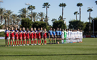 USWNT U-17 vs Japan, Nike Friendlies 2016, February 15, 2016