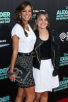 HOLLYWOOD, LOS ANGELES, CA, USA - OCTOBER 06: Eva LaRue, Kaya McKenna Callahan arrive at the World Premiere Of Disney's 'Alexander And The Terrible, Horrible, No Good, Very Bad Day' held at the El Capitan Theatre on October 6, 2014 in Hollywood, Los Angeles, California, United States. (Photo by Xavier Collin/Celebrity Monitor)