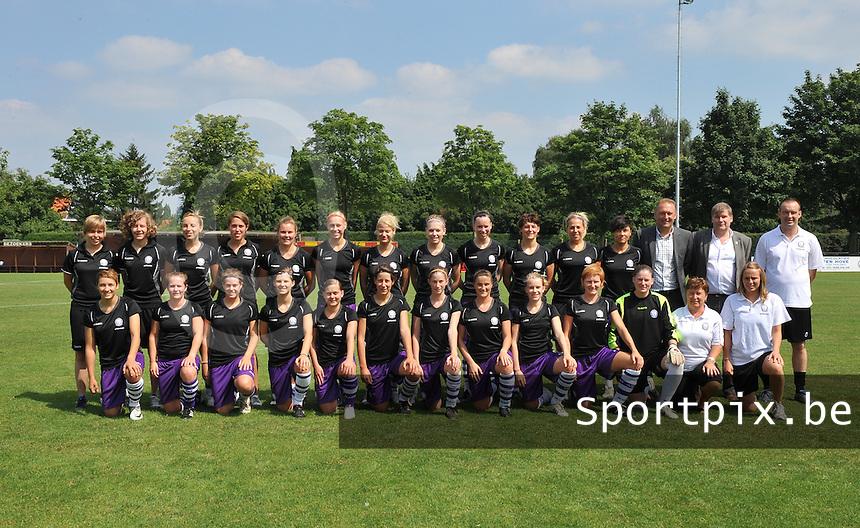 Beerschot AC Dames persvoorstelling : ploegfoto 2012 - 2013.foto DAVID CATRY / Vrouwenteam.be