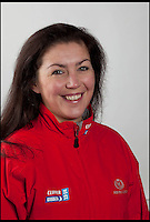BNPS.co.uk (01202 558833)<br /> Pic: onEdition/BNPS<br /> <br /> ***Please Use Full Byline***<br /> <br /> Clipper crew member Sarah Usher (34), who was swept overboard.<br /> <br /> This is the heart-stopping moment two British sailors are washed off the side of a yacht as it is knocked flat by a tornado in the middle of the ocean.<br /> Sarah Usher and Liz Richards are seen desperately trying to grab hold of the 70ft boat as they are swept overboard when the freak weather conditions hit.<br /> Their 70ft yacht was blown onto one side as the wind built then smashed almost 180 degrees onto the other as the tornado struck.<br /> Winds of more than 115mph pinned the capsized yacht down for around 60 seconds.<br /> Dramatic footage of the ordeal shows the boat's crew dragging the pair out of the water and back on board the boat as the winds ease.<br /> The tornado can then be seen disappearing into the distance as the boat returns to upright.<br /> Sarah, 34, from Hull, East Yorks, and Liz, 65, from Dartmouth, Devon, were both wearing life jackets at the time and were shaken but uninjured in the ordeal.<br /> They were part of an 18-strong crew on the Great Britain yacht competing in the Clipper Round the World Race, a 40,000-mile yacht race for amateur sailors.