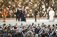 Prima udienza pubblica Papa Francesco
