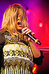Grace Potter and the Nocturnals performing at Stubb's BBQ, Austin, Texas, November 8, 2012.  Grace Potter and the Nocturnals is an American rock band from Vermont fronted by lead vocalist and multi-instrumentalist Grace Potter (born 20 June 1983).