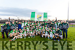 Ballydonoghue winners of the Final of the Bernard O Callaghan North Kerry Senior Football Championship, sponsored by McMunns Bar and Restaurant Ballybunion, St.Senans V Ballydonoghue  at Frank Sheehy Park, Listowel on Sunday.