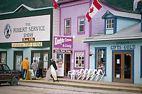 Dawson City, YT, Yukon Territory, Canada - National Historic Site, Store Fronts on Front Street
