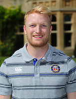 Geoff Robinson poses for a portrait at a Bath Rugby photocall. Bath Rugby Media Day on August 24, 2016 at Farleigh House in Bath, England. Photo by: Patrick Khachfe / Onside Images