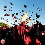 Naugatuck, CT-17, June 2010-061710CM16 Graduates celebrate after receiving their diplomas Thursday night at Naugatuck High School.  -Christopher Massa Republican-American