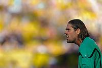 Fussball Bundesliga Saison 2011/2012 8. Spieltag Borussia Dortmund - FC Augsburg Restlos bedient: Simon JENTZSCH (Augsburg).