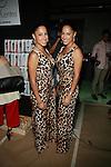 Lulu and Lala from Latina Magazine Backstage at Daisy Fuentes Spring/Summer 2014 Fashion Show Held at Eybeam, NY