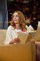 """London, UK. 30.09.2014. """"Speed-the-Plow"""", by David Mamet, directed by Lindsay Posner, starring Lindsay Lohan, opens at the Playhouse Theatre. Picture shows: Lindsay Lohan. Photograph © Jane Hobson."""