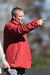 24 November 2013: Arkansas head coach Colby Hale. The University of Arkansas Razorbacks played the Duke University Blue Devils at Koskinen Stadium in Durham, NC in a 2013 NCAA Division I Women's Soccer Tournament Third Round match. Duke advanced by winning the penalty kick shootout 5-3 after the game ended in a 2-2 tie after overtime.
