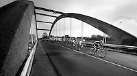 Kuurne-Brussel-Kuurne 2012<br /> on the bridge