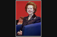 Baroness Thatcher - Conservative Party Conference - Bournemouth International Centre - 1998
