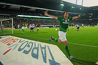 Fussball Bundesliga 2011/12: SV Werder Bremen - Hertha BSC Berlin