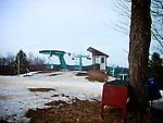 Suicide Six Ski Area, Woodstock, Vermont. 2013. Woodstock Inn.