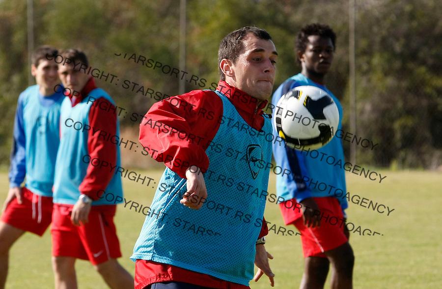 Fudbal,.Pripreme FK Crvena Zvezda, Cyprus.Nenad Milijas.Agia Napa, 01.15.2009.foto: Srdjan Stevanovic/Starsportphoto.com ©