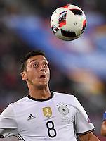FUSSBALL EURO 2016 VIERTELFINALE IN BORDEAUX Deutschland - Italien      02.07.2016 Mesut Oezil (Deutschland)
