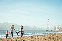 Burns Family Photos | Baker Beach San Francisco