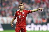 FUSSBALL   1. BUNDESLIGA  SAISON 2011/2012   31. Spieltag FC Bayern Muenchen - FSV Mainz 05       14.04.2012 Rafinha (FC Bayern Muenchen)