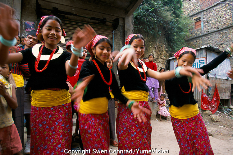 Brother day festival in Sulichour, Rolpa District, Nepal