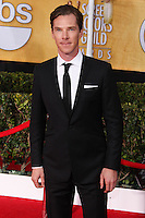 LOS ANGELES, CA - JANUARY 18: Benedict Cumberbatch at the 20th Annual Screen Actors Guild Awards held at The Shrine Auditorium on January 18, 2014 in Los Angeles, California. (Photo by Xavier Collin/Celebrity Monitor)